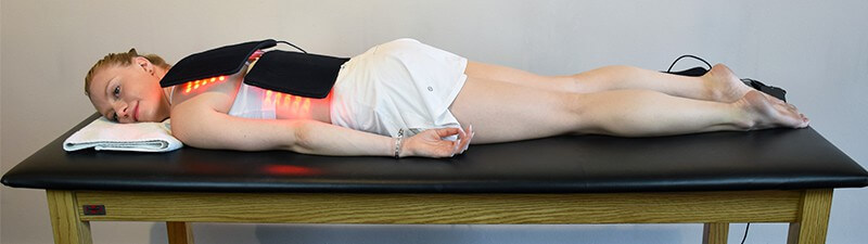 About Near Infrared Therapy for Chiropractic Patients - LED Full Back Treatment