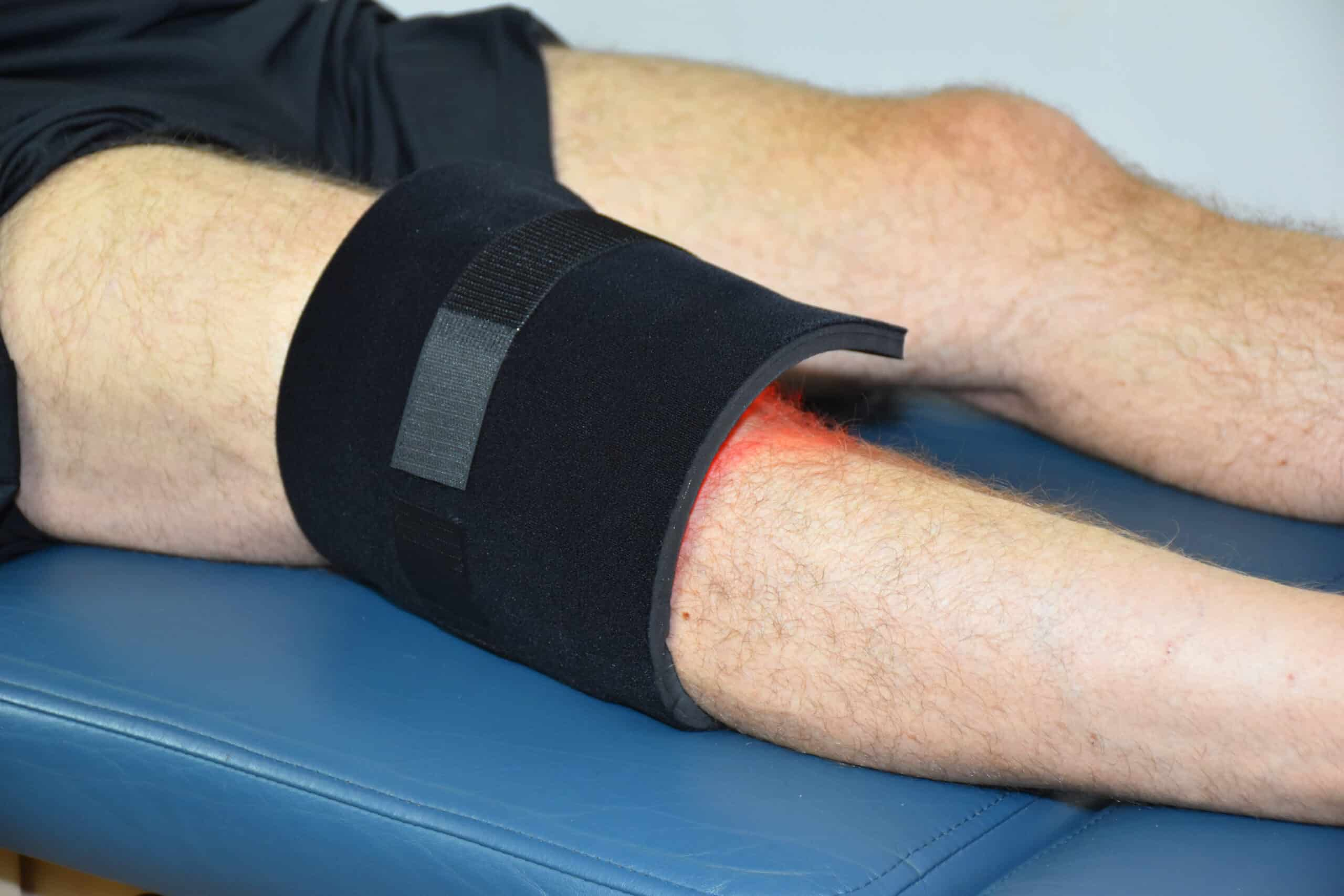 NIR Light Therapy on the Knee