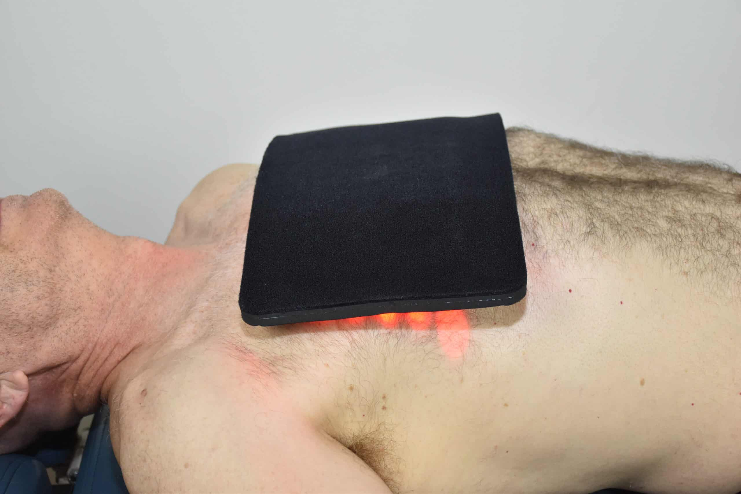 Red Light Therapy on the Chest